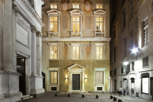 Palazzo Grillo a Genova, da luogo di degrado a hotel a 4 stelle