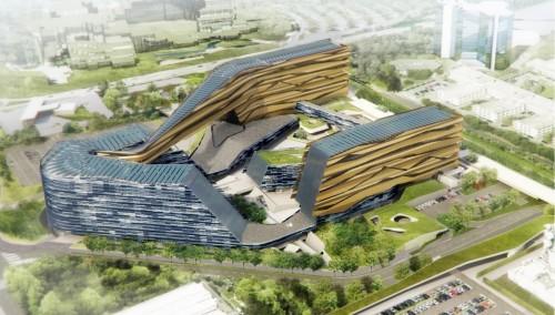Salini Impregilo costruirà la nuova sede Eni di Milano progettata da Morphosis con Nemesi