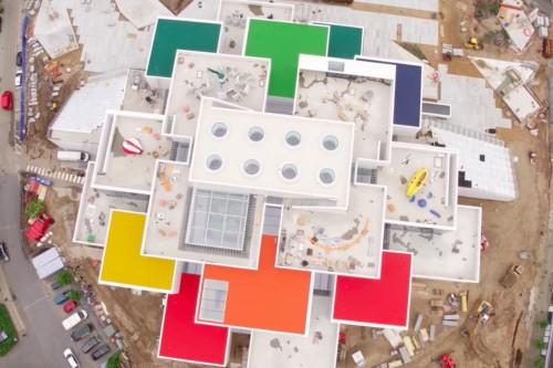 BIG svela le prime immagini della Lego House a Billund