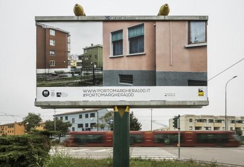 Porto Marghera entra in città con le gigantografie di Giorgio Bombieri