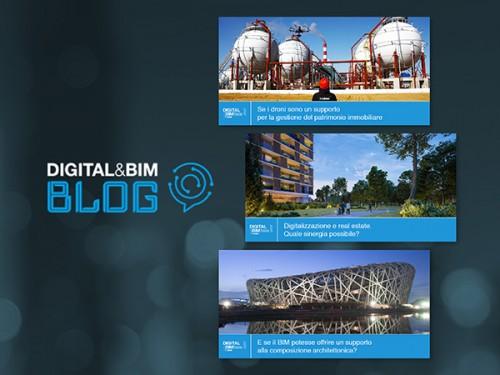 La transizione digitale in edilizia raccontata nel blog DigitalBIM