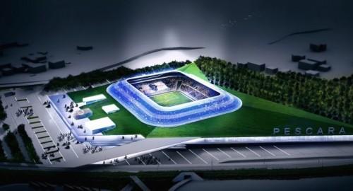 Il Pescara Calcio svela il concept del nuovo stadio sviluppato da Proger e Vaccarini