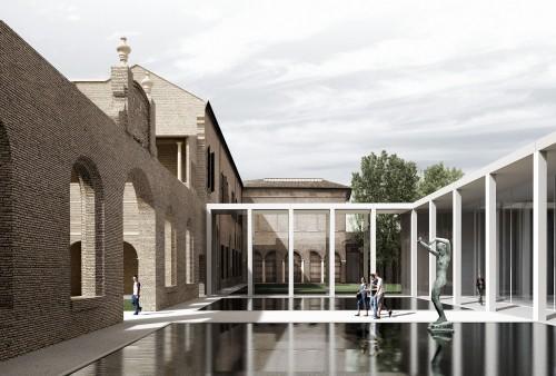 Doppietta romana per i musei di Ferrara: 3Ti con Labics e Abdr con Proger