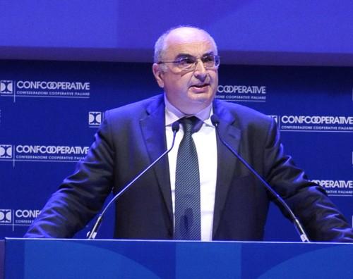 Confcooperative fa il bis a Roma. L'intervista al Presidente Maurizio Gardini