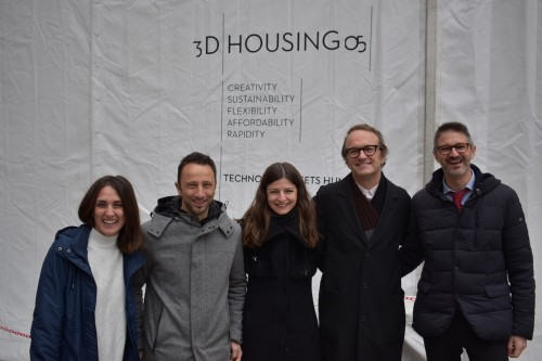 Presentata a Milano 3D Housing 05, la casastampata in tre dimensioni