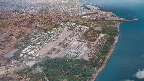 Barcellona, l'area aeroportuale di El Prat si rigenera e punta sull'hub digitale