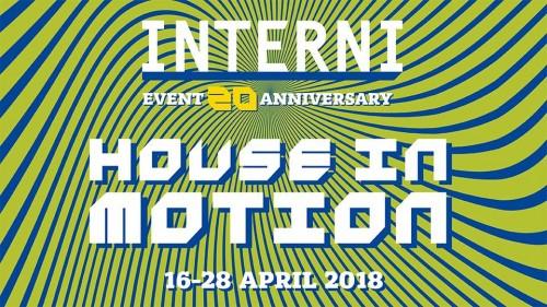 House in motion: l'abitare e la mobilità per i 20 anni di Interni al Fuorisalone