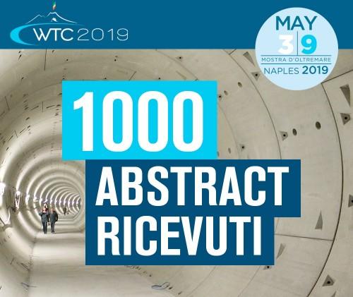 Sono 1000 gli abstract ricevuti per il 2019 World Tunnel Congress di Napoli