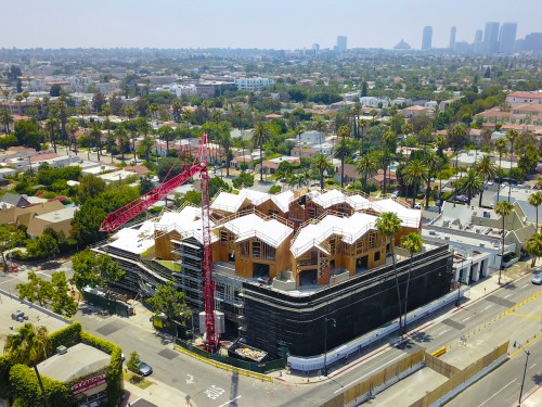 Gardenhouse, il villaggio di MAD Architects nel cuore di Beverly Hills