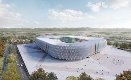 Ecco il nuovo stadio del Venezia FC (inaugurazione nel 2023)