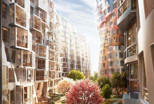 Gehry Partners sceglie Permasteelisa per la pelle del nuovo progetto di Londra