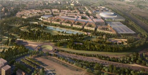 Cantieri a Milano Santa Giulia: una città nella città, e candidatura per le Olimpiadi 2026