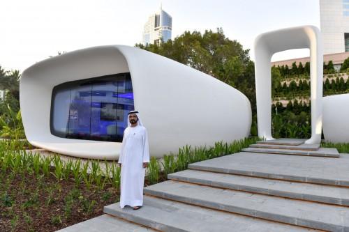 Dubai, un quarto degli edifici stampati in 3D nel 2025
