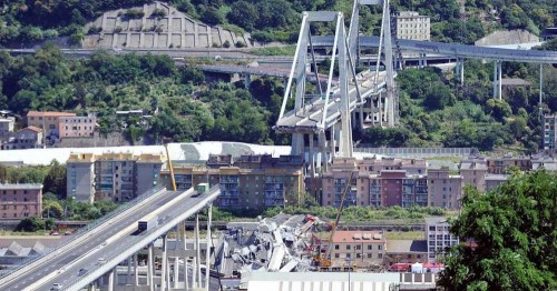 Restaurare e reintegrare il ponte Morandi, la proposta dell'InArch