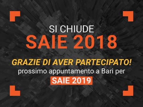 Chiusa in positivo la 53esima edizione di SAIE Oltre 40mila professionisti e 450 aziende in mostra
