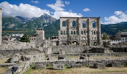 Aosta, concorso per la valorizzazione dell'area archeologica cittadina