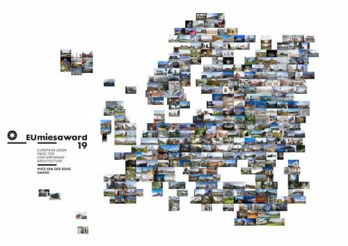 EU Mies Award, 17 architetture italiane in lizza