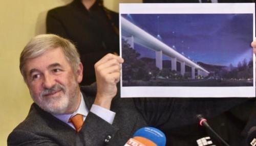 Bucci: avanti con il ponte di Piano, all'inizio anno un concorso per l'area del Polcevera