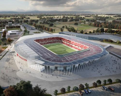 Progetto CMR e Sportium presentano il nuovo stadio del Padova Calcio