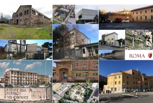 ReinvenTIAMO Roma: 14 siti da rigenerare con i privati