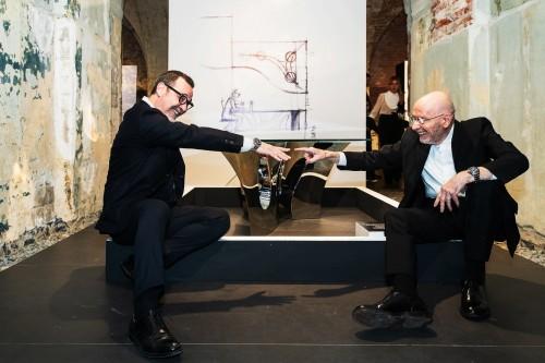 Design e architettura di Bellini nelle cornici di Curatolo, l'italian beauty in mostra a Mosca