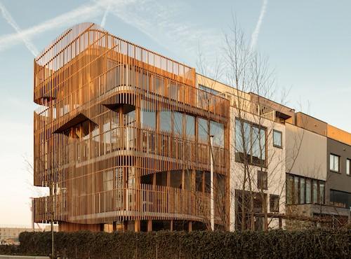 Freebooter, le case biofiliche dello studio GG-loop ad Amsterdam