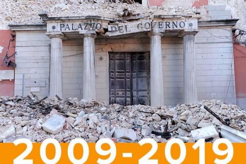 Dieci anni dopo il sisma, luci e ombre sulla ricostruzione dell'Aquila