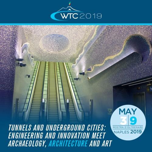 WTC2019, a Napoli il congresso mondiale sulle opere sotterranee