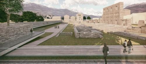 I romani di Modostudio vincono il concorso Aosta Est
