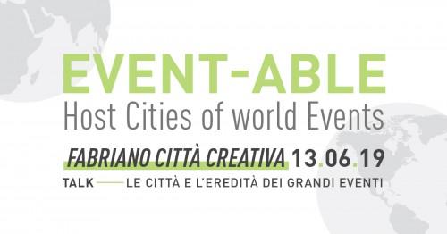 Event-able, esperti a confronto sul rapporto tra manifestazioni internazionali e le città ospitanti