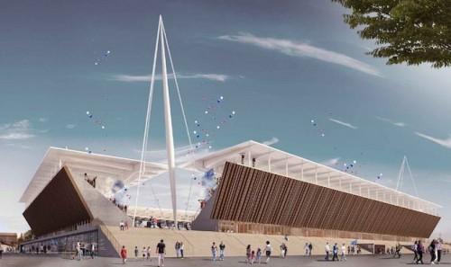 Ad Andrea Maffei Architects la cittadella dello sport di Novara