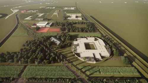 Posata la prima pietra dell'H-Campus, 58 milioni per il polo d'innovazione da 51 ettari