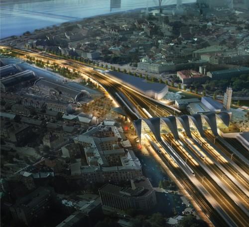 FS con Crew si aggiudica l'architettura della nuova stazione di Riga