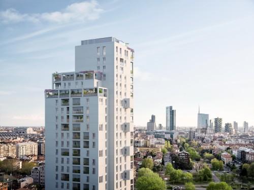 Cantieri milanesi: torre da 80 metri con Beretta Associati a ridosso di Porta Nuova