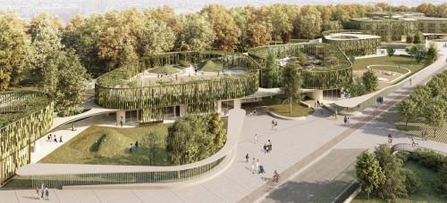 Via Scialoia a Milano, la scuola-parco di Modus Architects vince il concorso Concorrimi