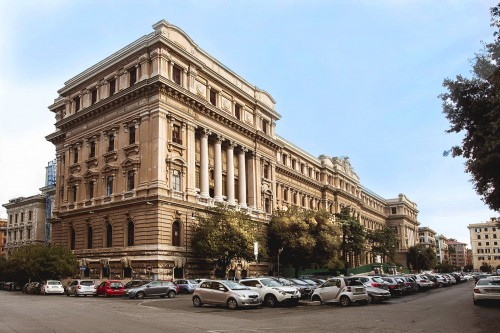 Uffici nell'ex Poligrafico dello Stato di Roma. Enel primo tenant, progetto Citterio-Viel