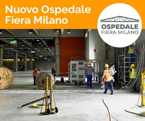 Industrializzazione e impiantistica per l'emergenza. Dentro il cantiere del nuovo Ospedale Fiera Milano