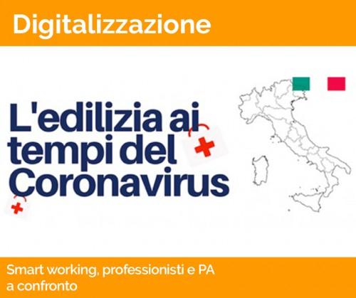 Smart working e digitalizzazione, professionisti e PA a confronto