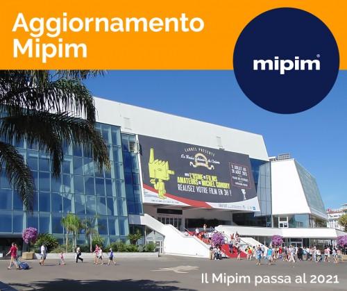 Il Mipim passa il turno: a Cannes nel 2021 e nel coming soon una piattaforma digitale