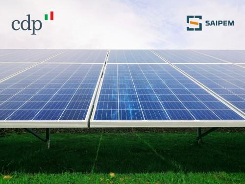 Cdp e Saipem: protocollo e task force per scommettere sulla transizione energetica