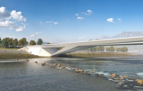 Ingegneria, architettura e paesaggio a Belluno, la sintesi in un ponte firmato Campo Baeza