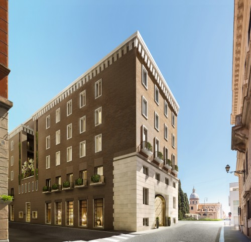 Antonio Citterio Patricia Viel a Roma. Ecco il nuovo Bvlgari Hotel
