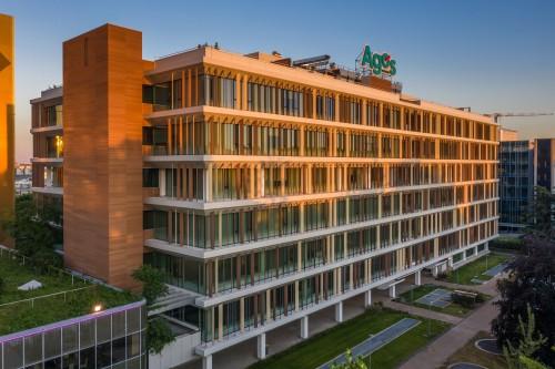 Efficienza energetica, legno riciclabile e design contemporaneo con D2U per l'headquarter Agos