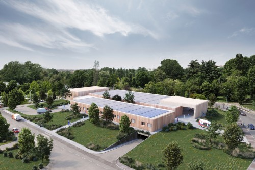 Modulo ospedaliero industrializzato firmato Humanitas con Taidelli e Techint