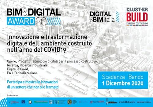 Bim & Digital Awards 2020, le innovazioni delle costruzioni in risposta alla pandemia