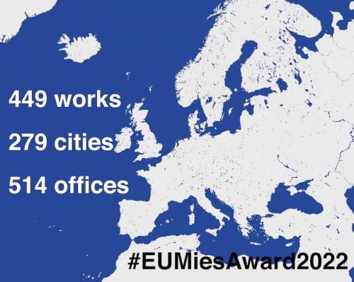 Mies Award 2022: 449 opere che raccontano lo status dell'architettura in Europa