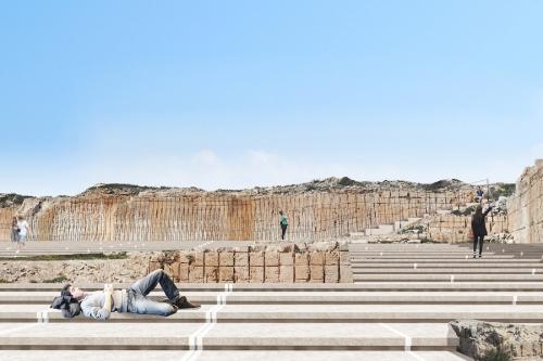 A Lampedusa (con Vincenzo Latina) un teatro e il memoriale delle migrazioni