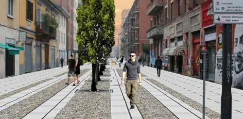 Milano, via Gola cambia look e si rigenera grazie ai cittadini