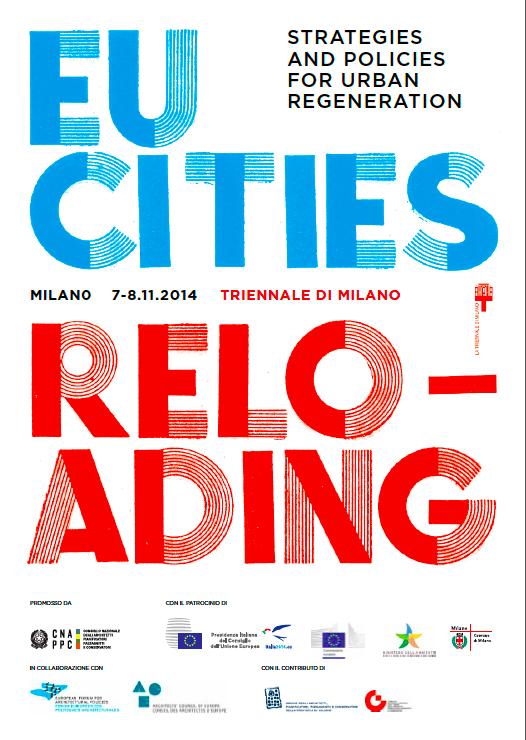 Eucities Reloading: gli Architetti aprono un tavolo sulla rigenerazione urbana con l'Europa