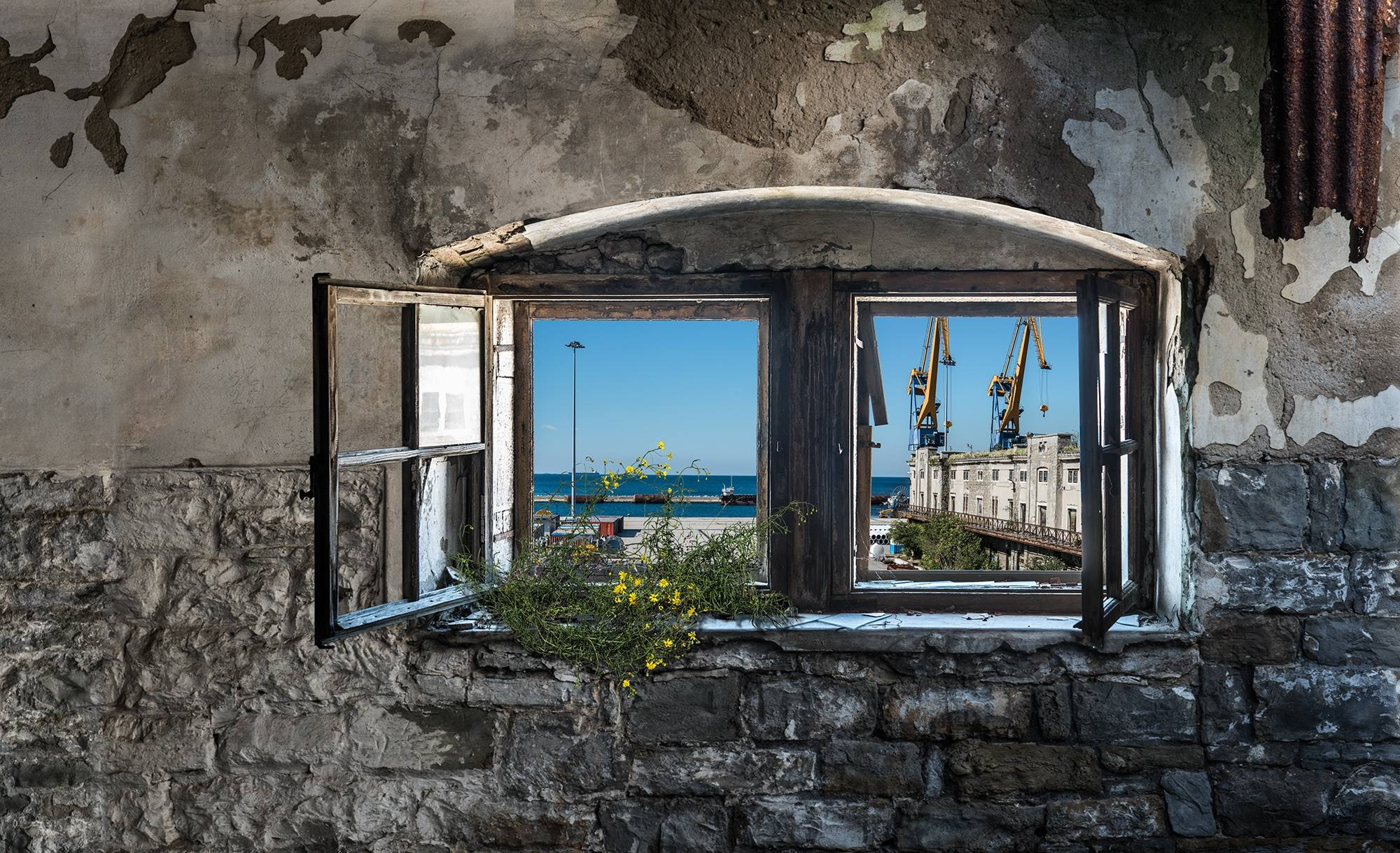 Trieste una finestra aperta su un mare di possibilit ppan for Finestra antica aperta